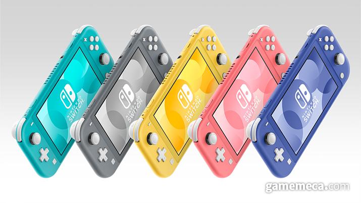 닌텐도 스위치 라이트 색상 5종 (사진출처: 한국닌텐도 공식 홈페이지)