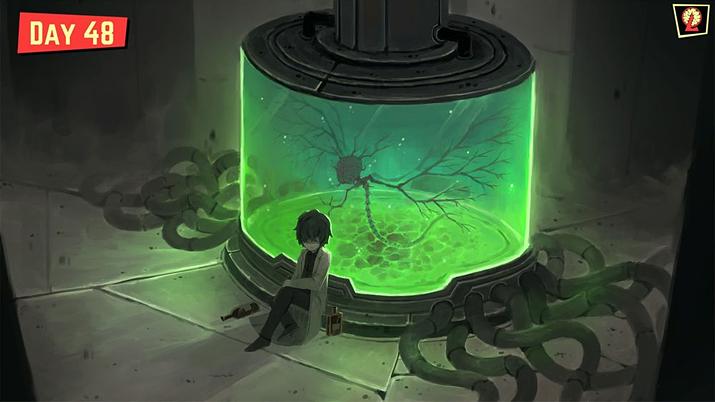 특이체질이었던 설립자의 뇌로 만든 '코기토' 추출기(사진출처: 게임 내 이미지 갈무리)