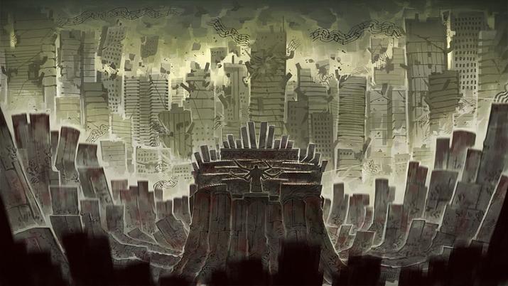 로보토미 코퍼레이션의 실패로 발생한 '뒤틀림'인 '피아니스트' (사진출처: 게임 내 이미지 갈무리)