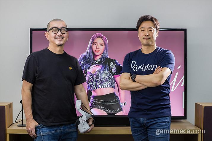 EVR스튜디오 윤용기(좌), 김재환(우) 각자대표 (사진제공: EVR스튜디오)