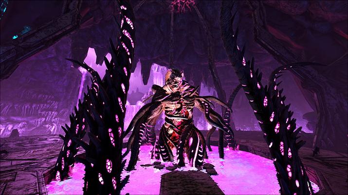 애버레이션 DLC에서 보스로 등장했던 록웰 (사진출처: 스팀)