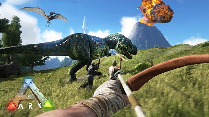 환상의 섬에서 공룡을 사냥하고 길들이는 게임인 줄 알았는데… (사진출처:스팀)