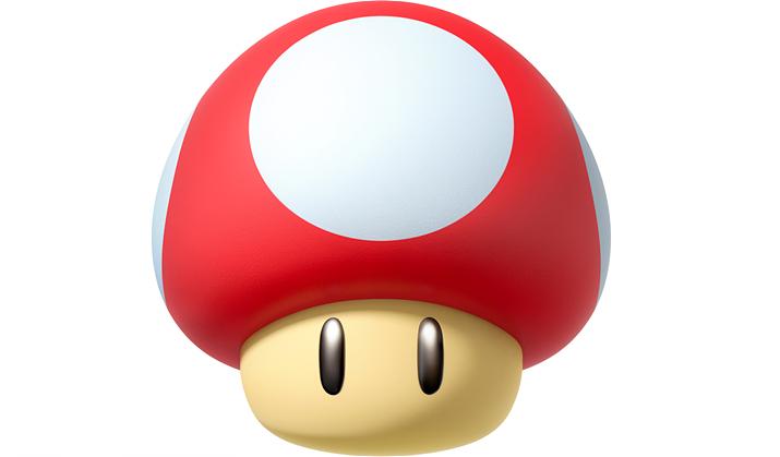 왠지 먹으면 키가 클 것 같은 버섯이지만... (사진출처: 슈퍼마리오 위키)
