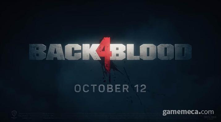 10월 12일 출시되는 백 4 블러드 (사진출처: MS-베데스다 E3 쇼케이스 갈무리)