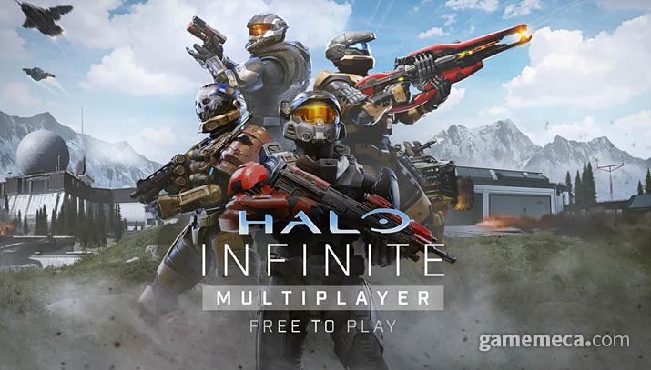 멀티플레이 F2P 서비스를 선언한 헤일로 인피니트 (사진출처: Xbox-베데스다 E3 쇼케이스 갈무리)