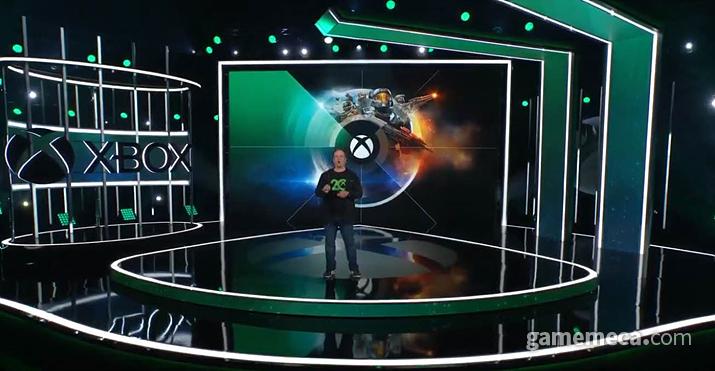 MS-베데스다 E3 쇼케이스 무대 (사진출처: MS-베데스다 E3 쇼케이스 갈무리)