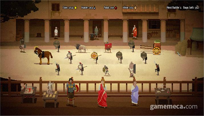 노예 검투사 매니저 게임 '도미나' (사진출처: 스팀)