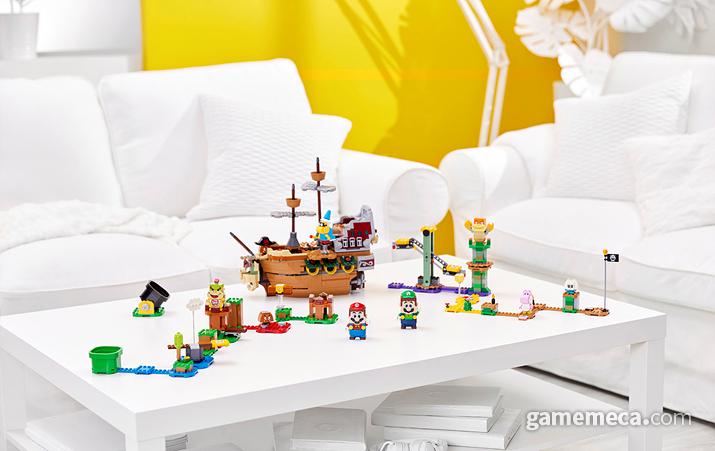 레고 슈퍼마리오 패키지 및 확장/파워업/아이템팩 (사진제공: 레고코리아)