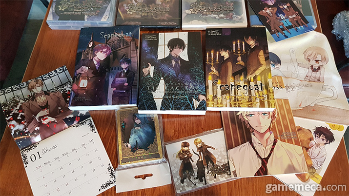 틱택토에서 출시했던 상품들의 일부 (촬영: 게임메카)