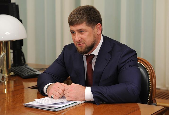 실제 체첸 국가원수인 람잔 카디로프 (사진출처: 위키피디아)