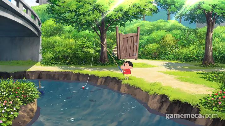 낚시도 할 수 있다 (사진출처: 닌텐도 공식 유튜브 영상 갈무리)