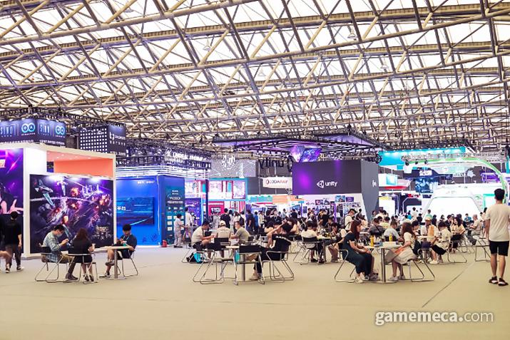 2020년 차이나조이 행사장 풍경 (사진출처: 차이나조이 공식 홈페이지)