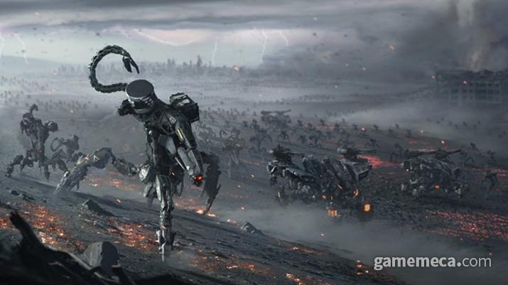 게임 내에도 등장하는 멸망 이전의 전쟁용 로봇 커럽터 (사진출처: PS 공식 홈페이지)