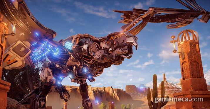 게임 내에 등장하는 기계생물 스톰버드 (사진출처: 게임 내 영상 갈무리)