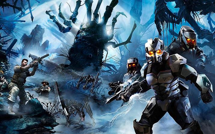 부위 파괴 시스템과 독특한 로봇 디자인에서 호라이즌 제로 던의 뿌리를 찾을 수 있는 킬존 3 (사진출처: Pixels)