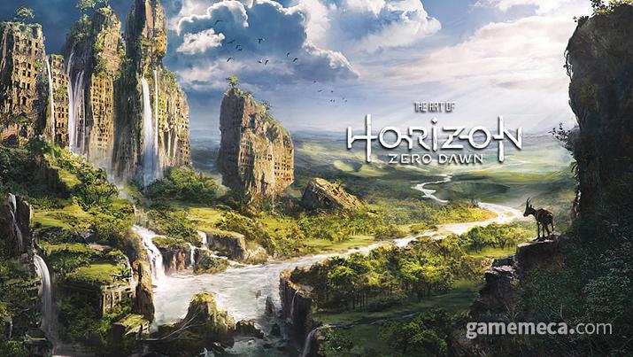 문명 멸망 이후 먼 미래를 배경으로 한 호라이즌 제로 던 (사진출처: PS 공식 홈페이지)