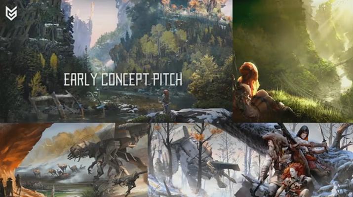 초기에는 4인 협동전을 비롯해 다양한 콘셉트가 있었다고 (사진출처: GDC Vault)
