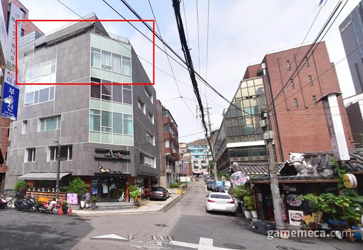 지금 사무실 위치는 6층이다 (사진출처: 네이버 지도)
