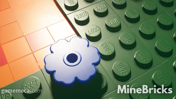 레고 대신 마인/크래프트가 새겨진 전혀 다른 블록입니다 (사진출처: 마인브릭스 공식 홈페이지)