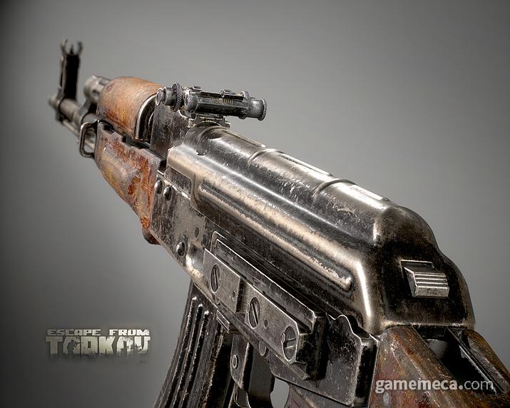 사실 현실에서도 주로 쓰이는 총기류는 어느 정도 정해져 있지 않은가 (사진출처: 이스케이프 프롬 타르코프 공식 사이트)