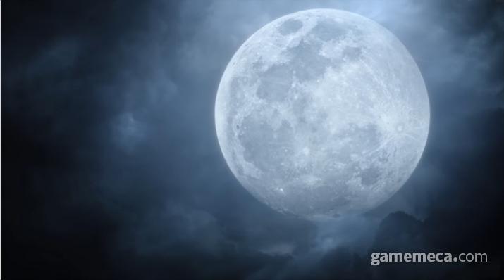 광원이라곤 달빛 밖에 없는 곳에서 (사진출처: 게임 내 영상 갈무리)