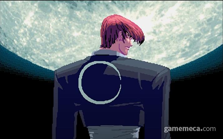 오락실 대기화면에 항상 비추던 화면이라 더욱 익숙한 달빛 아래 이오리 (사진출처: KOF 96 오프닝 영상 갈무리)