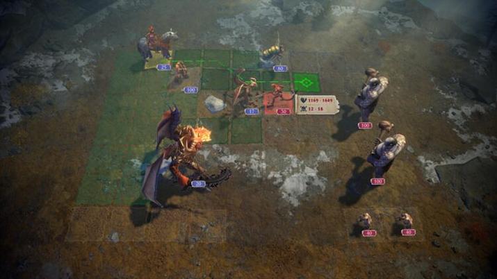 성전군 전투는 킹스 바운티를 연상시킨다 (사진출처: 스팀)