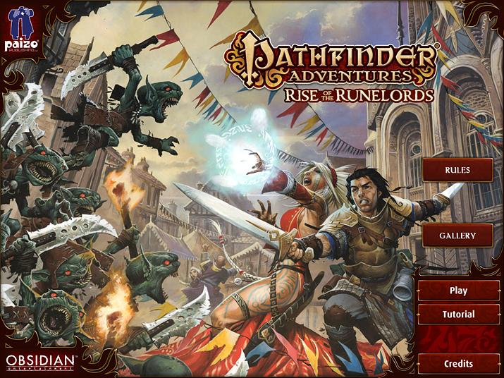 가장 먼저 나온 디지털 게임은 보드게임인 '패스파인더 어드벤처 카드 게임: 라이즈 오브 더 룬로즈' 디지털화 버전이다 (사진출처: 스팀)