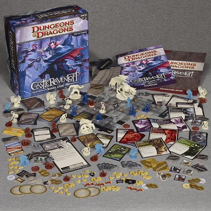 D&D 4판은 보드게임에 가까운 방식으로 룰이 재구성됐으며, 실제로도 이를 기반으로 한 보드게임 시리즈가 나오기도 했다 (사진출처: Co-optimus)