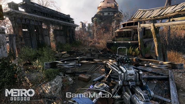2월 15일 PC와 Xbox One, PS4로 출시되는 '메트로 엑소더스' 스크린샷 (사진출처: MS E3 2018 컨퍼런스 영상 갈무리)