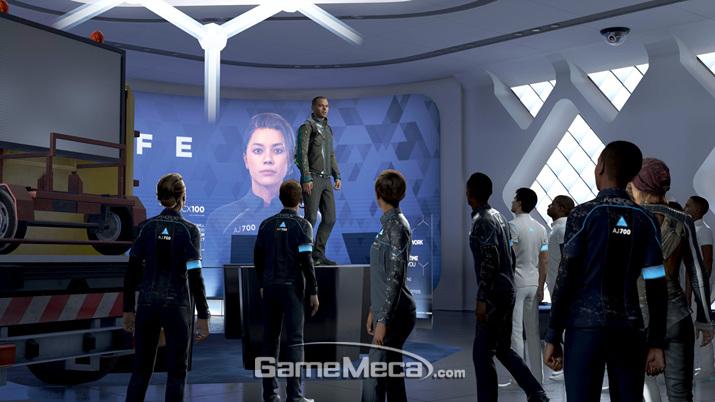 안드로이드를 해방시키며 혁명을 주도하는 '마커스' (사진출처: 게임 공식 호멮이지)