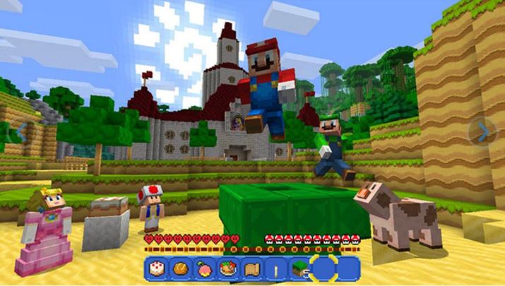 '마인크래프트 닌텐도 스위치' 스크린샷 (사진출처: 공식 홈페이지)