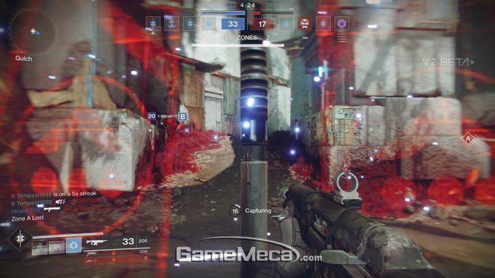 빠른 템포를 자랑하는 '컨트롤' (사진출처: 게임메카 촬영)