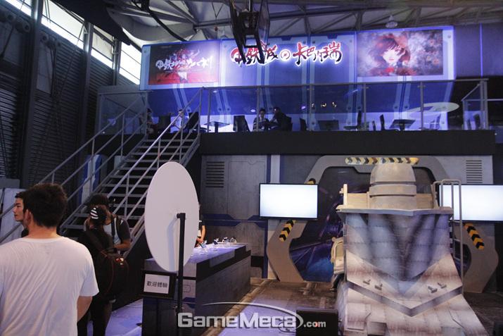 일본 애니메이션을 배경으로 한 '갑철성의 카바네리' 게임입니다. 최근 중국 게임계의 대세는 '일본풍'인 것 같네요
