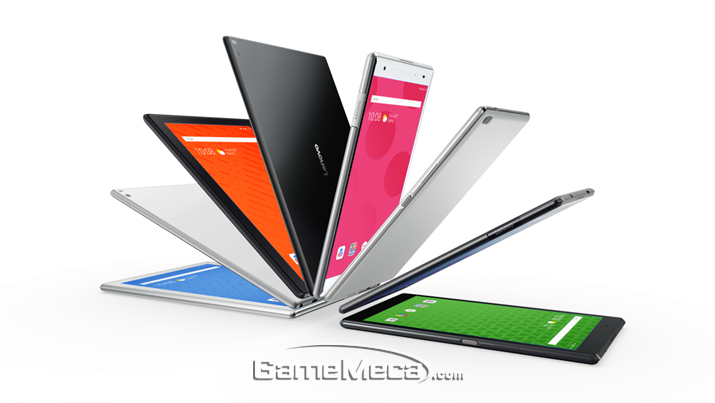 레노버 '탭4 게이밍 태블릿' 시리즈가 출시됐다 (사진제공: 레노버)