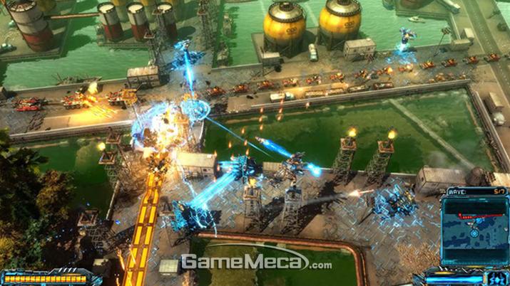 '엑스모프 디펜스' 스크린샷 (사진출처: 게임 공식 홈페이지)
