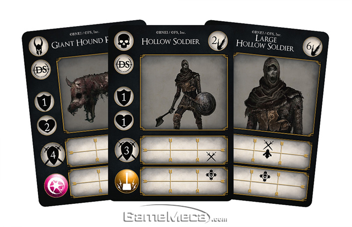 '다크 소울: 더 카드 게임' 패키지 및 부속품 이미지(사진출처: 스팀포지드게임즈 공식 홈페이지)