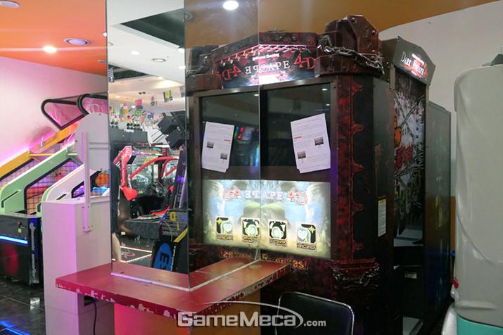 게임센터 내 존재감을 과시하는 각종 체감형 슈팅 게임들 (사진제공: Ryunan)