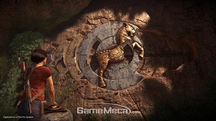 고대 유적의 퍼즐을 풀고...