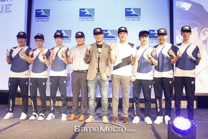 '오버워치 리그' 서울팀이 엔진에 시동을 건다 (사진출처: 게임메카 촬영)