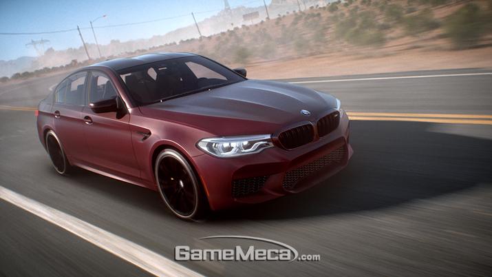 '니드 포 스피드: 페이백' 속 뉴 BMW M7 (사진제공: EA)