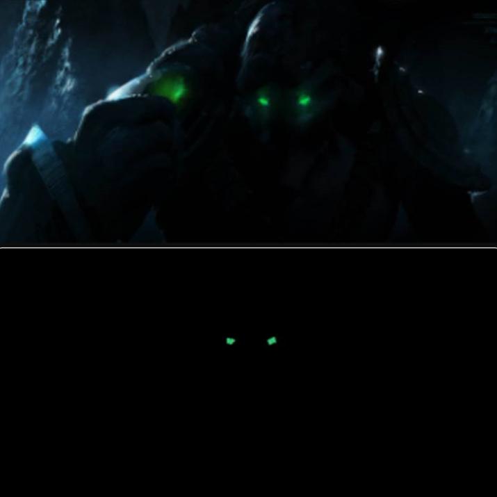 녹색 안광만 둥둥 떠다니는 1등상 (사진출처: 스타크래프트 공식 페이스북)