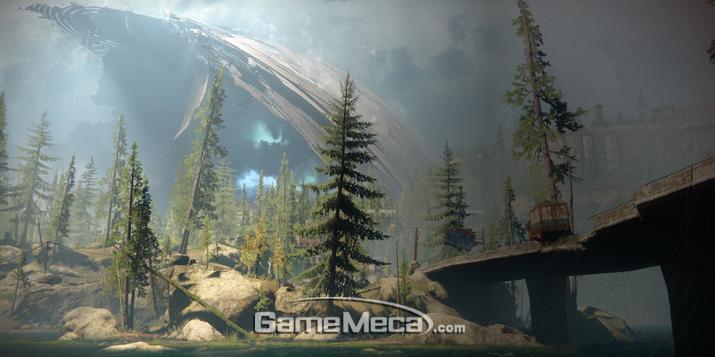 새로운 지역 'EDZ' (사진출처: '데스티니 2' 공식 홈페이지)