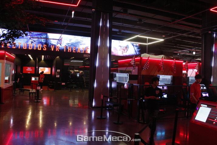 송도에 오픈한 '몬스터VR' 테마파크 (사진: 게임메카 촬영)