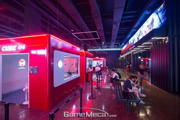 8월 송도에 오픈한 VR 테마파크 '몬스터VR' (사진: 게임메카 촬영)
