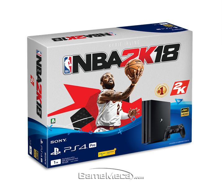 'PS4 Pro NBA 2K18' 번들팩 사진 (사진제공: SIEK)