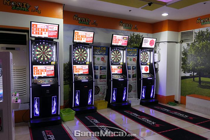 누구나 부담없이 즐기는 게임센터의 새로운 인기몰이, 다트 게임