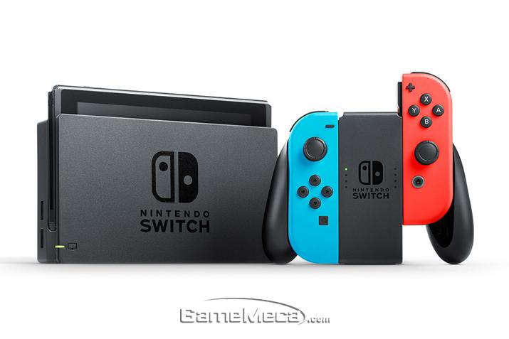 닌텐도 스위치가 국내 정식발매를 확정지었다 (사진출처: 닌텐도 공식 홈페이지)