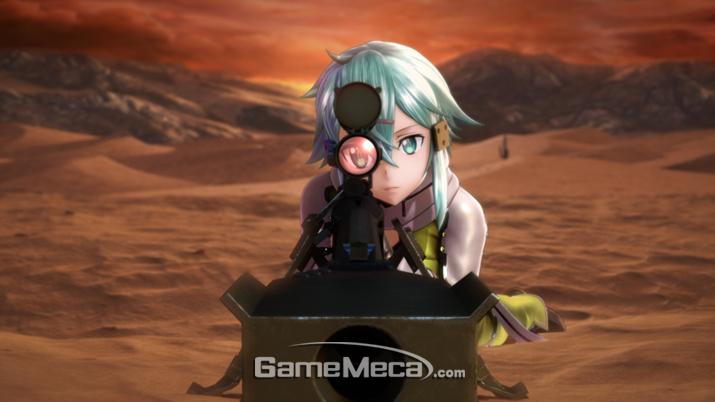 칼보다 강한 대물저격총 (사진제공: BNEK)