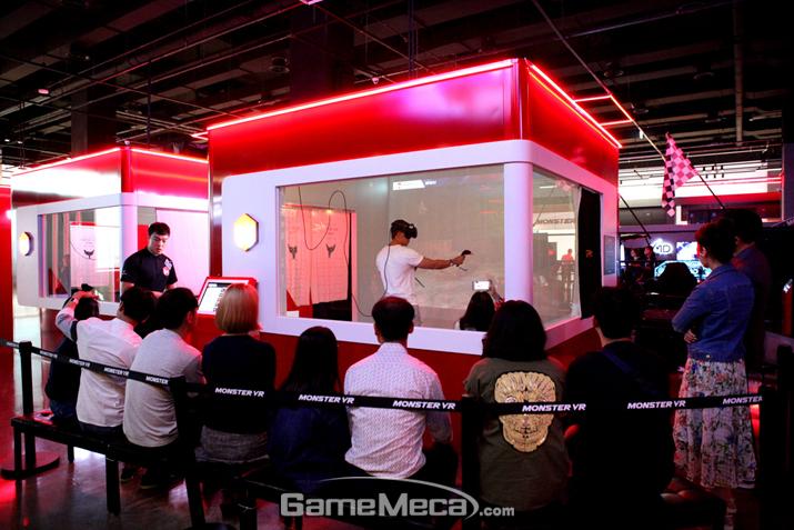 인천 송도에 오픈한 '몬스터 VR' 테마파크 1호점 (사진제공: 지피엠)